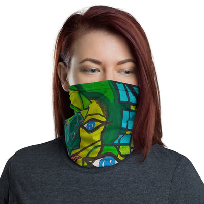 ArtzOnMe Green Face Mask
