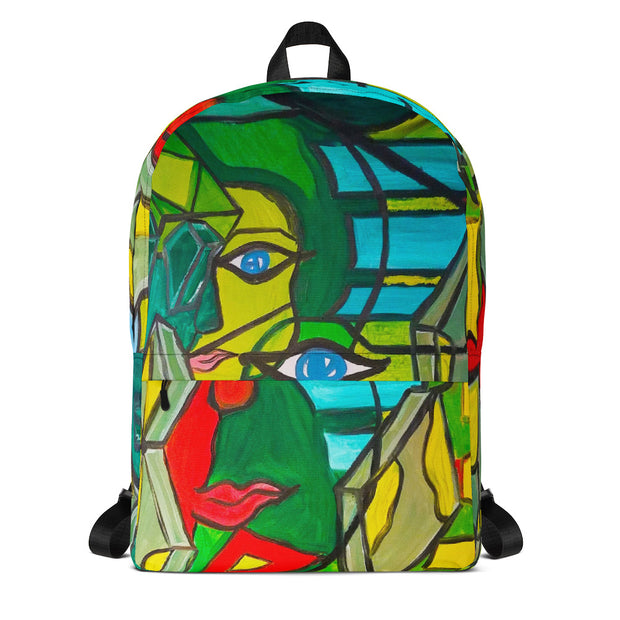 ArtzOnMe Original Green Backpack