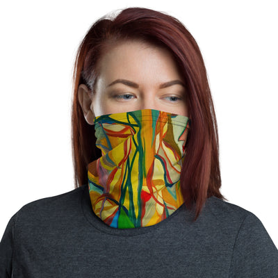 ArtzOnMe Stained Glass Face Mask