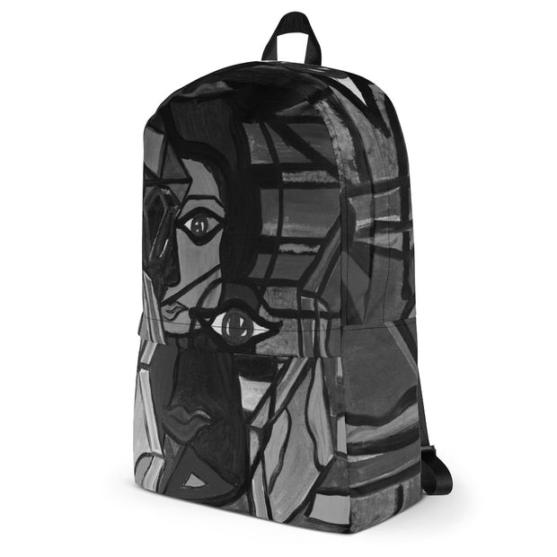 ArtzOnMe Colorblock Abstract Backpack