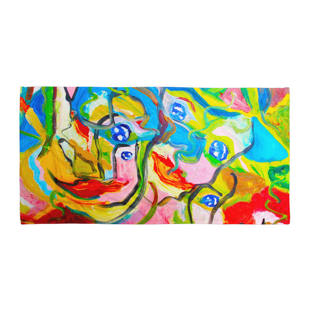 ArtzOnMe Smiles Beach Towel