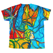 ArtzOnMe Stained Glass Youth T-shirt