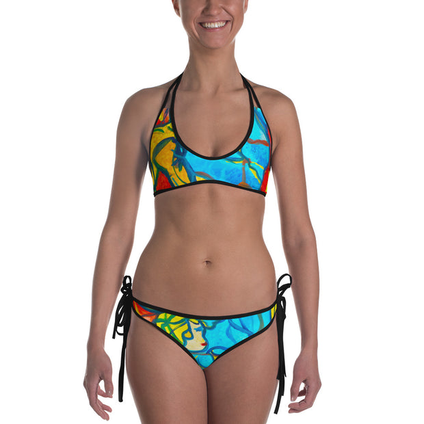 ArtzOnMe Stained Glass Reversible Bikini