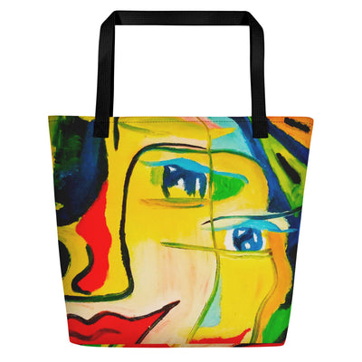 ArtzOnMe Happy Beach Bag