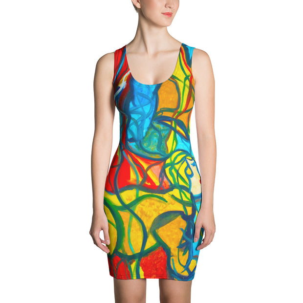ArtzOnMe Bright Stained Glass Dress