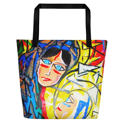 ArtzOnMe Face It Beach Bag