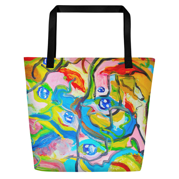 ArtzOnMe Smiles Beach Bag