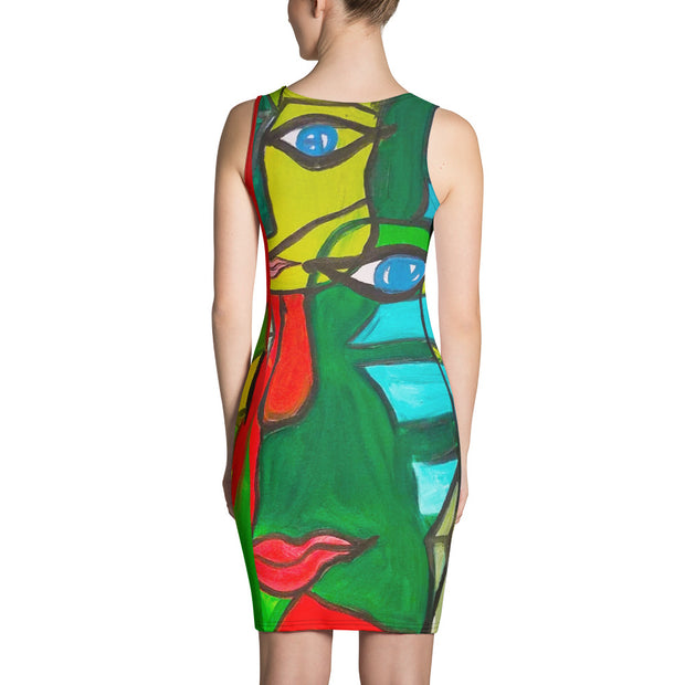 ArtzOnMe Original Green Dress