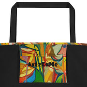 ArtzOnMe Stained Glass Beach Bag