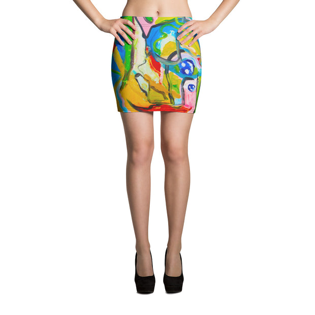 ArtzOnMe Smile Mini Skirt