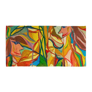 ArtzOnMe Stained Glass Beach Towel