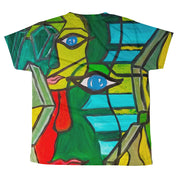 ArtzOnMe Green Youth T-shirt