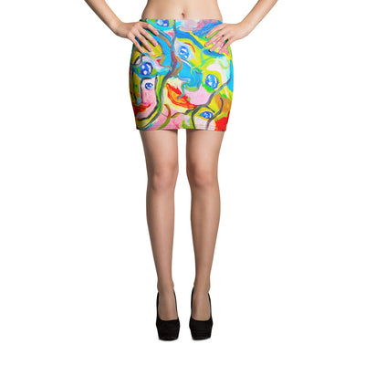 ArtzOnMe Smiles Mini Skirt