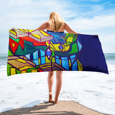 ArtzOnMe Original Beach Towel