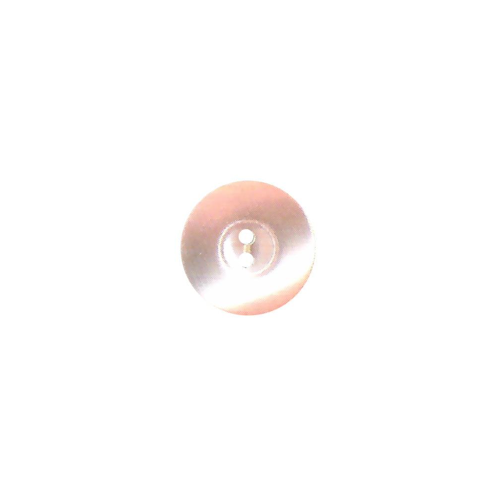 Bouton polyester réversible rose clair