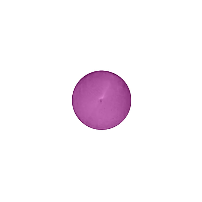 Bouton polyester violet