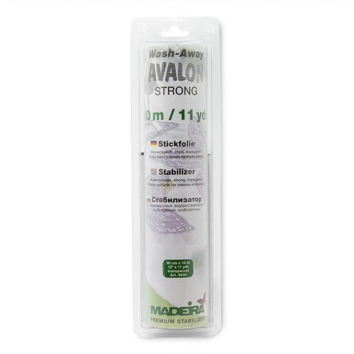 Stabilisateur de broderie Avalon Strong, hydrosoluble