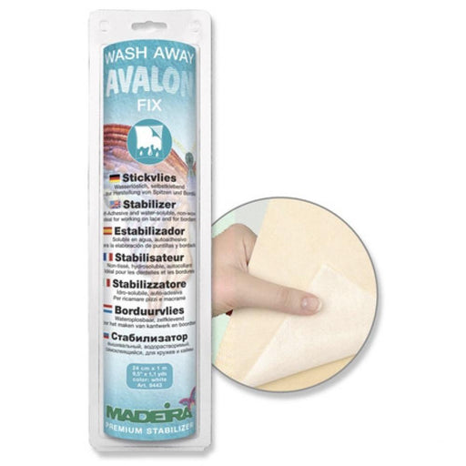 Stabilisateur de broderie Avalon Fix, hydrosoluble