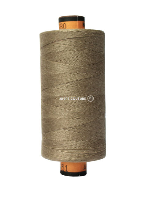Fil Mettler Belfil 1000m Col 380, Couleur marron