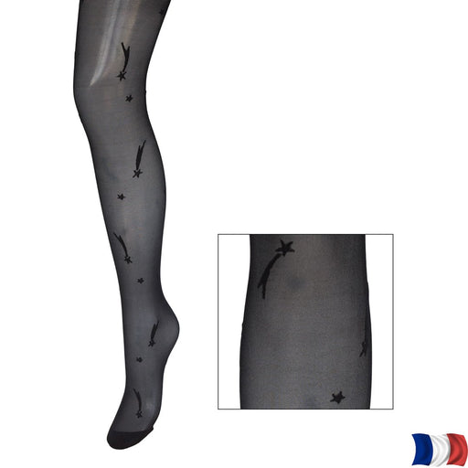 Collants fantaisie motifs comètes, 20D
