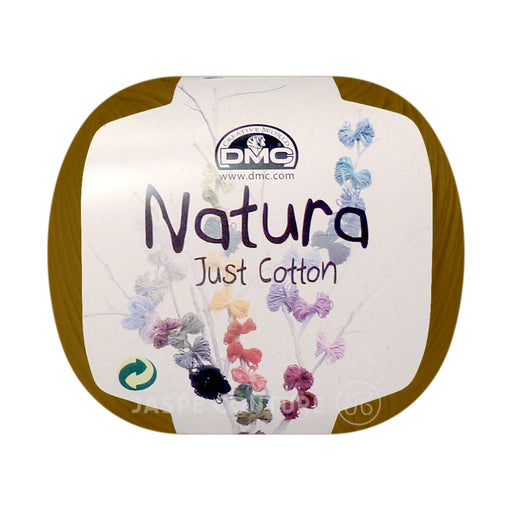 Fil coton Natura DMC curry