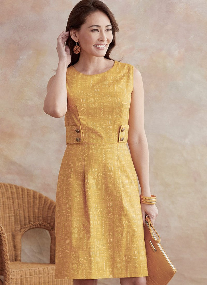 Patrons de robes Butterick 6676
