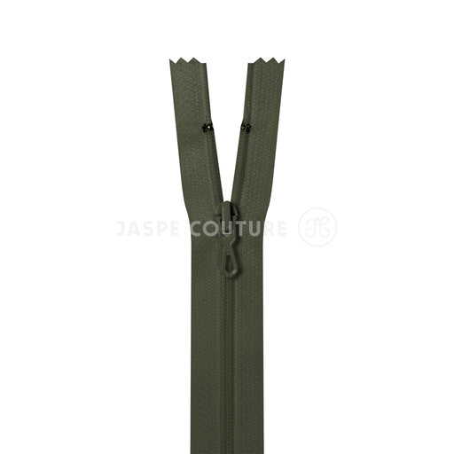 Fermeture eclair non separable chasse