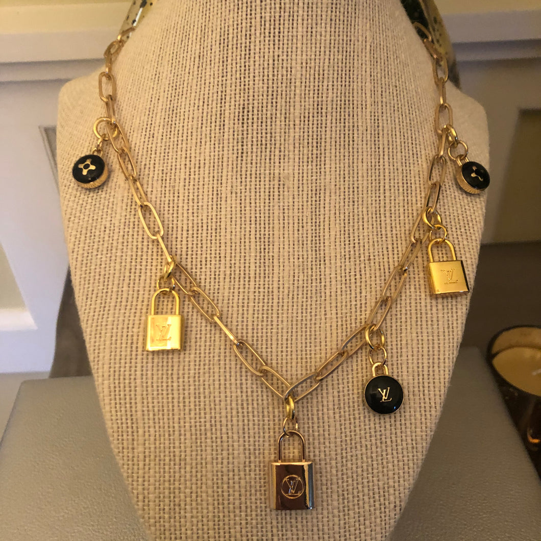 Repurposed Diane Necklace