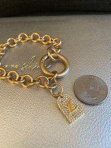 Repurposed Emmy Bracelet