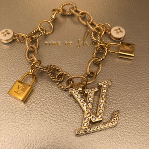 Repurposed Khloe Charm Bracelet