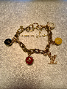 Repurposed Mila Charm Bracelet