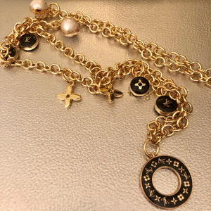 Repurposed Natalie Charm Necklace