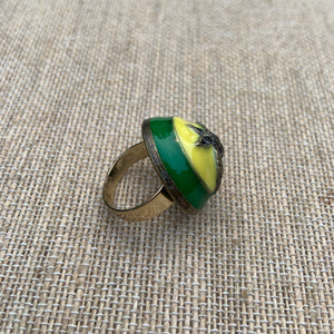Repurposed Amelia Cocktail Ring
