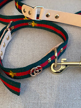 Load image into Gallery viewer, Designer inspired leash and collar set