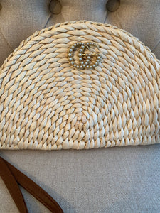 Repurposed Wicker Clutches