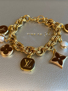 Aubrey repurposed vintage bracelet