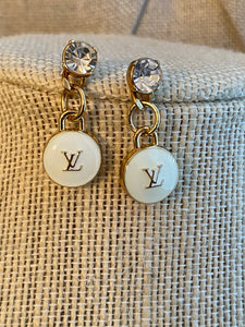 Repurposed Darcy Earrings