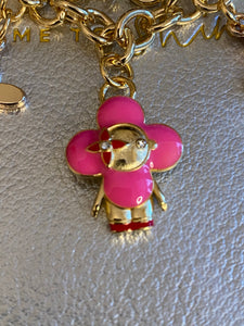 Vivian repurposed charm bracelet