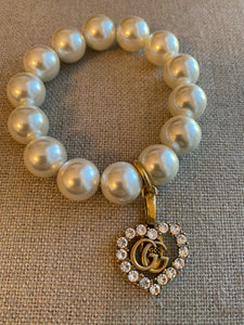 Repurposed Rhiannon Pearl Bracelet