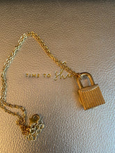 Load image into Gallery viewer, Janice Marie Lock Necklace