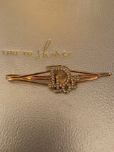 Load image into Gallery viewer, Repurposed Genevieve Hair Pin Gold