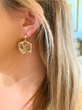 Load image into Gallery viewer, Repurposed Rosy Earrings