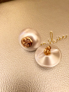 Repurposed Lucinda Pearl Earrings