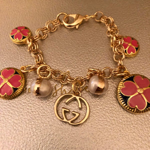 Repurposed Brianna Charm Bracelet