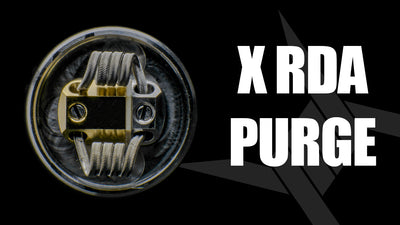X RDA 25mm | Purge Unboxing
