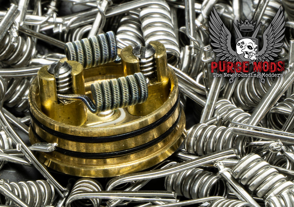 Purge Coils - Staggered Fused Claptons