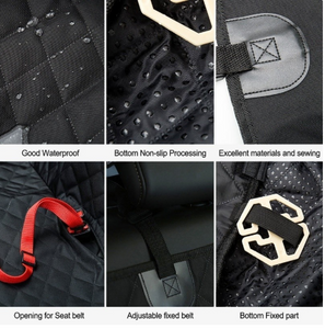 Waterproof Back Seat Car Cover With Hammock Protector Mat