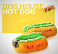Load image into Gallery viewer, Hot Dog! That is some comfortable bedding.