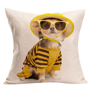 Funny Chihuahua Pillow Cover
