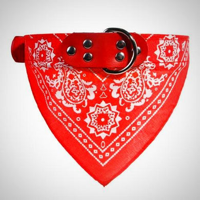 Leather Bandana Collar